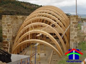 Estructuras de madera laminada tecnifusta - Maderas laminadas tipos ...