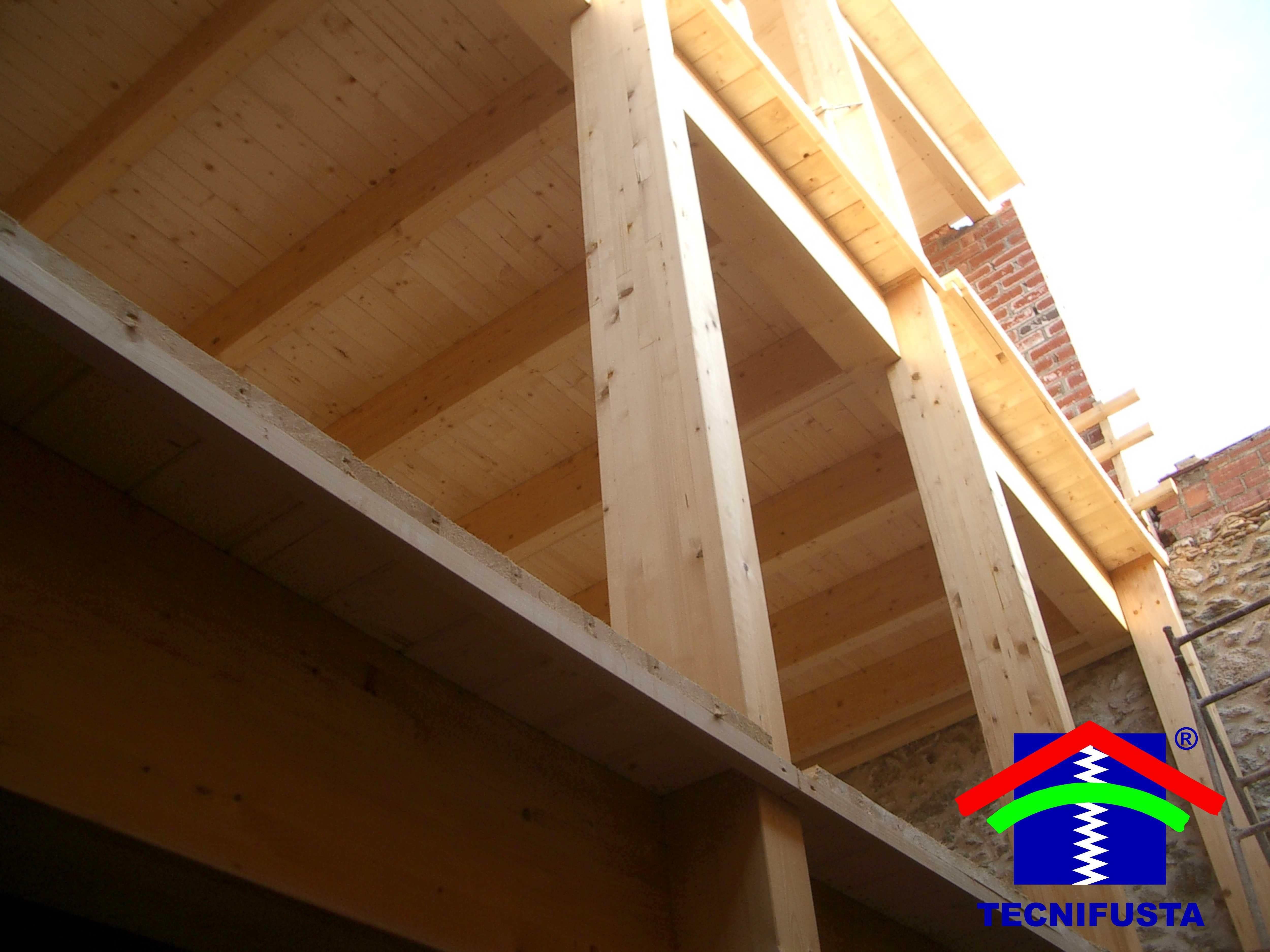 Estructuras de madera laminada tecnifusta - Estructuras de madera laminada ...